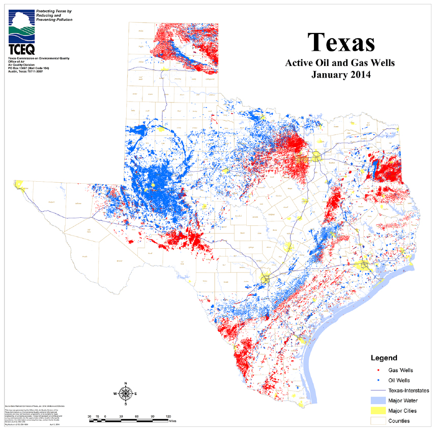 Enforcing Texas Oil Gas Laws Texas Campaign For The Environment - Oil from texas in us map
