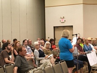 Residents testify at RRC Sunset town hall meeting in Grapevine