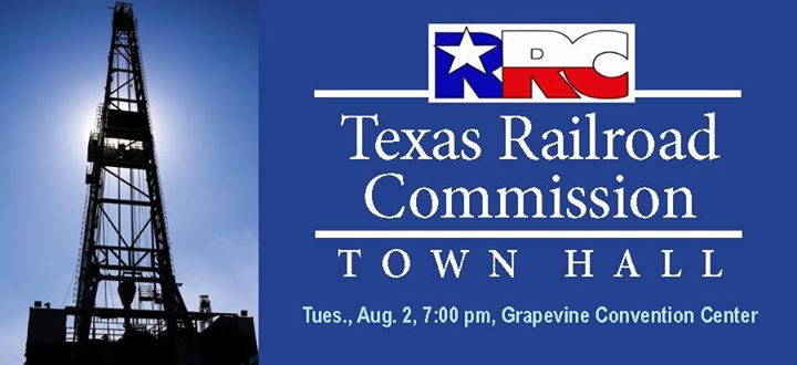 tx rrc town hall grapevine invite